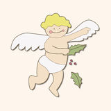 Angel theme elements vector,eps. Vector illustration file Stock Photos