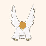 Angel theme elements vector,eps. Vector illustration file Stock Images