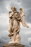 Angel with the thorn crown statue, Rome Royalty Free Stock Images
