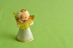 An angel to decorate a Christmas tree Royalty Free Stock Photos