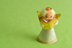 An angel to decorate a Christmas tree Royalty Free Stock Photo
