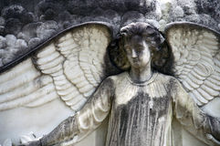 Angel Tombstone Detail Stock Photos