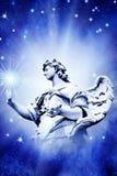 Angel Touching Star Royalty Free Stock Photo