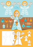 Angel toy Royalty Free Stock Images