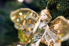 Angel toy Stock Images