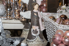 Angel, traditional decorations for Christmas tree Stock Image