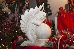 Angel, traditional decorations for Christmas tree Stock Photos