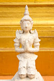 Angel in traditional Thai style molding art Royalty Free Stock Photos