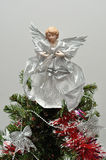 An angel tree topper Royalty Free Stock Photo