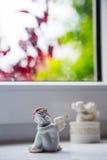 Angel Trinket Statue Near the Window Royalty Free Stock Photo