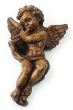 Angel with trumpet Stock Image