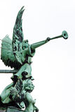Angel with Trumpet at Berliner Dom (Cathedral) Royalty Free Stock Photo