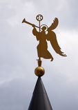 Angel with a trumpet Stock Image