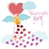 Angel valentine Royalty Free Stock Photos