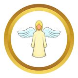 Angel vector icon Royalty Free Stock Photos
