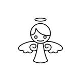 Angel Vector Template Photo libre de droits