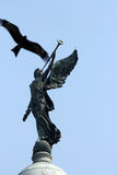 Angel of victory atop the dome of Victoria Memorial, Kolkata. India Royalty Free Stock Photo