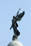 Angel of victory, Victoria Memorial, Kolkata, India. Angel of victory atop the dome of Victoria Memorial, Kolkata, India Royalty Free Stock Images