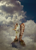 Angel Warrior Royalty Free Stock Image