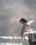 Angel On Water Stock Image