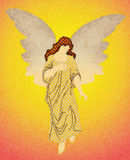 Angel watercolor Royalty Free Stock Photography