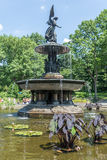 The Angel of The Waters Fountain at Bethesda Terrace Royalty Free Stock Photography