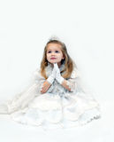 Angel in White Stock Photo