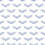 Angel white wings sketch pattern. Vector illustration Royalty Free Stock Photo
