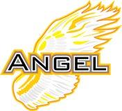Angel Wing Sinal para o projeto ilustração stock