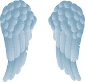 Angel wings. An illustration of angel or dove wings Stock Photography