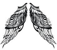 Angel Wings Illustration Stock