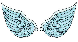 Angel Wings Stockbild