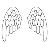 Angel Wings Image stock