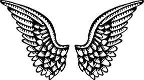 Angel Wings Photo stock