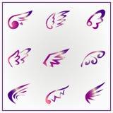 Angel Wings Royalty-vrije Stock Afbeeldingen