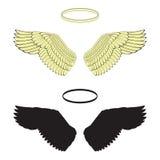 Angel Wings Arkivbilder