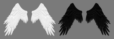 Angel Wings Lizenzfreie Stockbilder