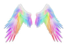 Angel Wings Fotografie Stock Libere da Diritti