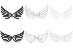 Angel Wings Royalty-vrije Stock Afbeelding