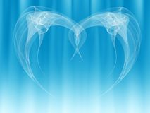 Angel wings abstract royalty free stock images