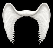 Angel Wings. Digital illustration of angel wings, ready to be composited with other images royalty free stock photography