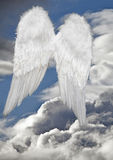 Angel wings heaven Stock Image