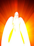 Angel with wings Royalty Free Stock Photography