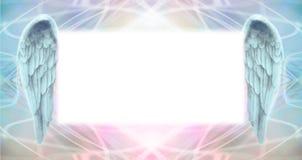 Angel Wings Message Board Imagens de Stock Royalty Free