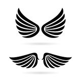 Angel wings vector icon Royalty Free Stock Photo