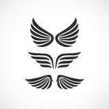 Angel wings vector icon Stock Photos