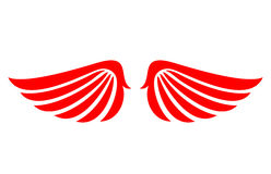Angel wings vector icon Royalty Free Stock Photography
