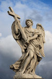 Angel With The Cross Stock Photography