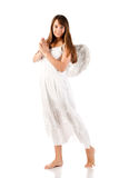 Angel woman Royalty Free Stock Photography