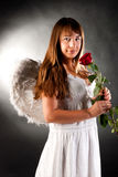 Angel woman Stock Photography